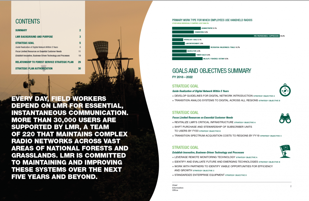 spread from strategy report